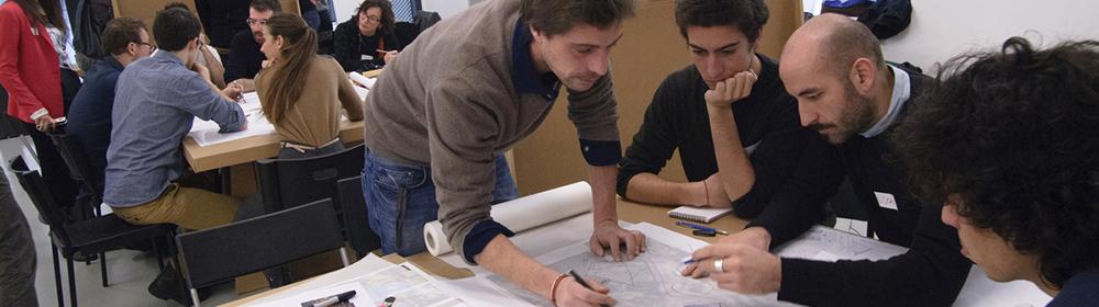 Charrette: percorso partecipativo tra progettisti e cittadini del quartiere Isola - Garibaldi per la riqualificazione urbana del calvalcavia Bussa, Milano.
